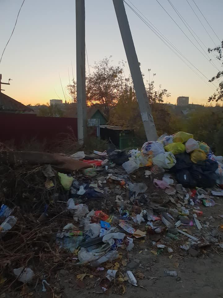 Мелитопольцы превратили улицу в свалку , фото-1, Фото Л. Грибовской
