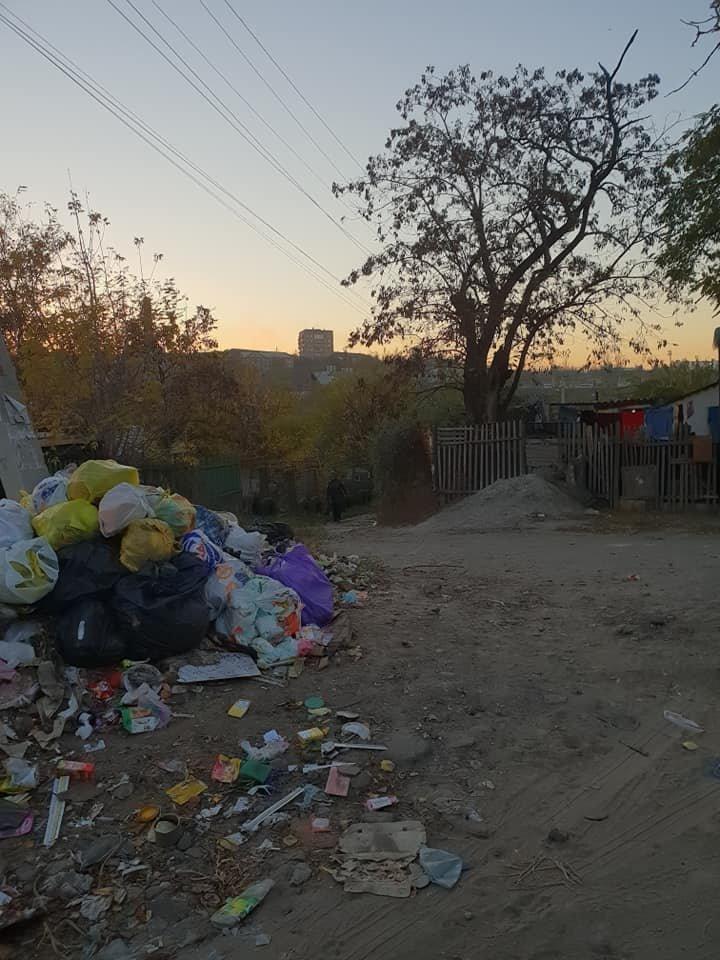Мелитопольцы превратили улицу в свалку , фото-2, Фото Л. Грибовской