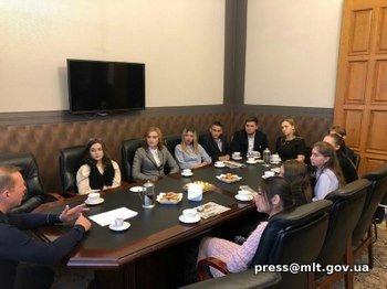 Мэр Мелитополя пообщался со студентами , фото-2