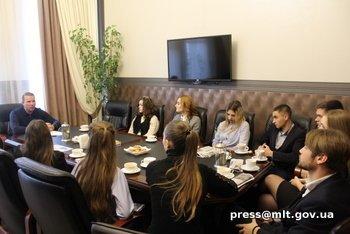 Мэр Мелитополя пообщался со студентами , фото-1