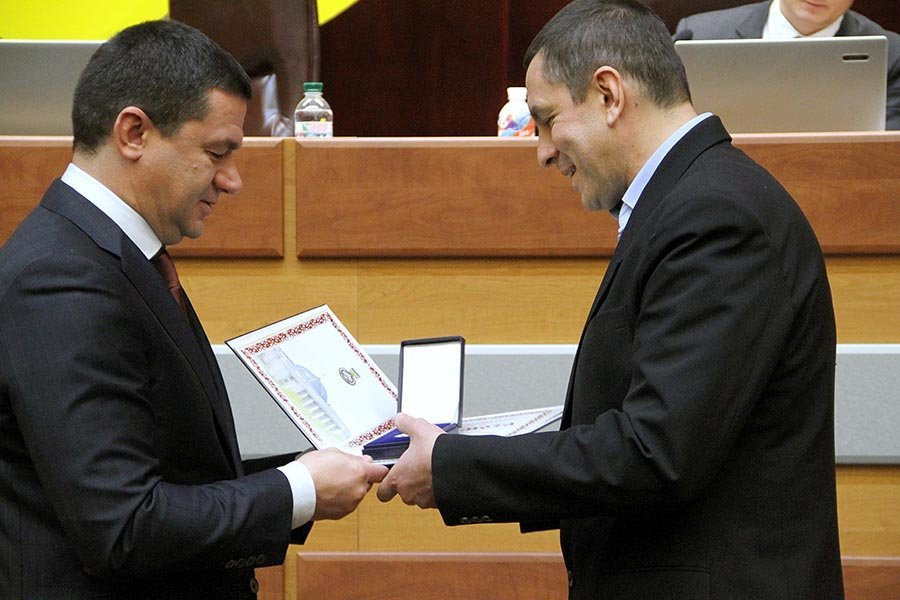 Мелитопольский врач получил награду Верховной Рады Украины, фото-1