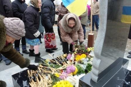 В Мелитопольском районе открыли памятный знак жертвам Голодомора, фото-4