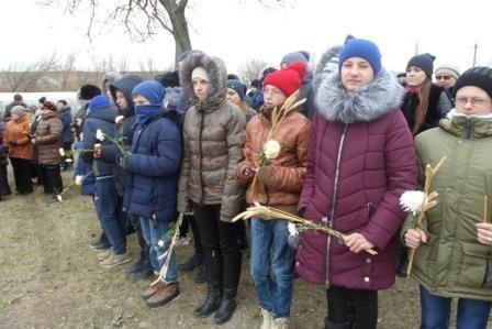 В Мелитопольском районе открыли памятный знак жертвам Голодомора, фото-7