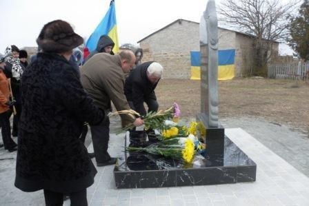 В Мелитопольском районе открыли памятный знак жертвам Голодомора, фото-5