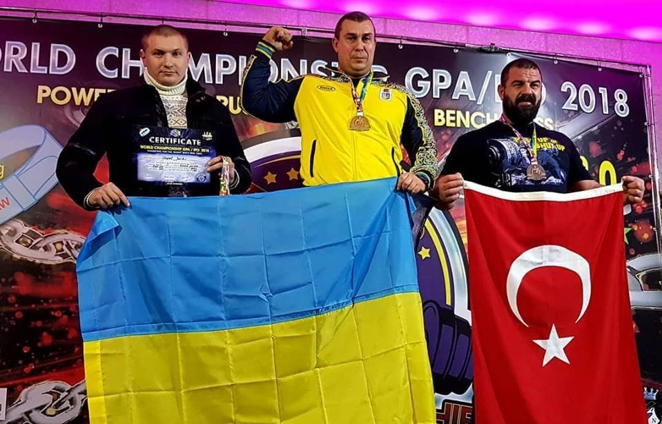 Мелитопольский спасатель стал победителем Мирового чемпионата по пауэрлифтингу, фото-1