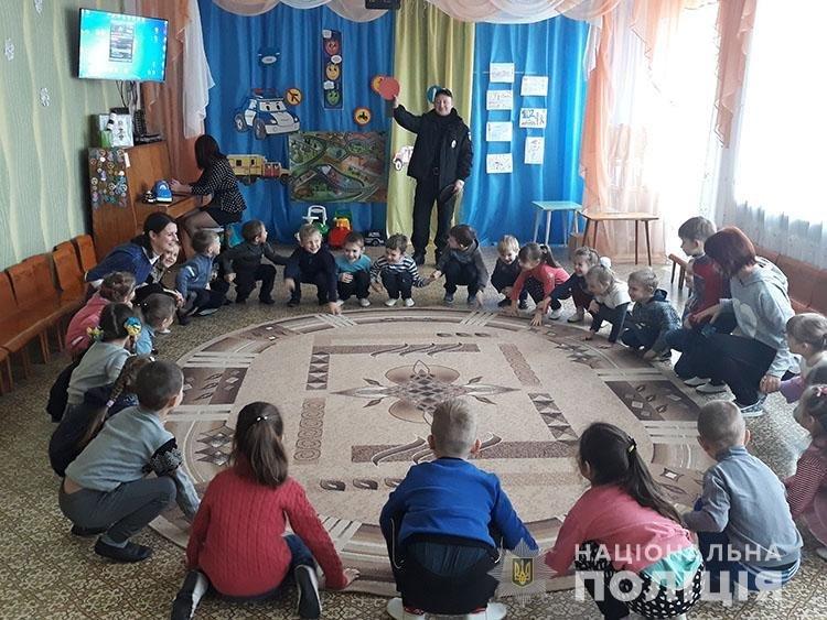 Мелитопольские полицейские напомнили детям правила дорожного движения , фото-3