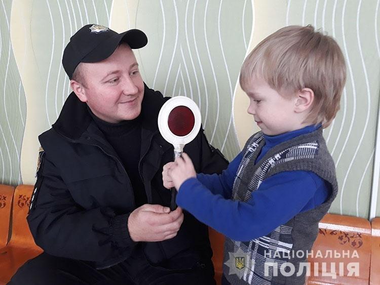 Мелитопольские полицейские напомнили детям правила дорожного движения , фото-1