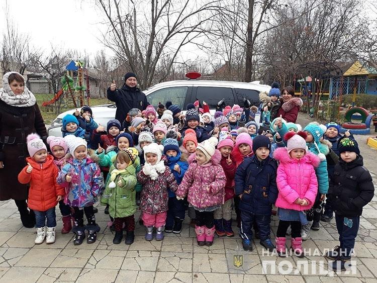 Мелитопольские полицейские напомнили детям правила дорожного движения , фото-6