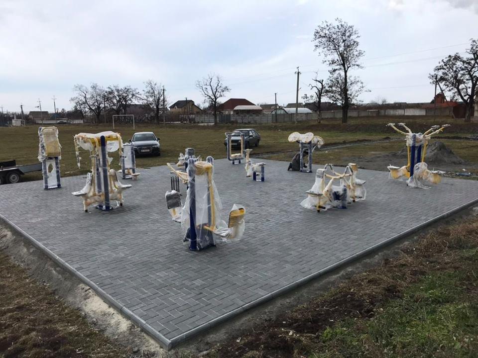 В Мелитопольском районе появилась самая большая спортивная площадка , фото-3