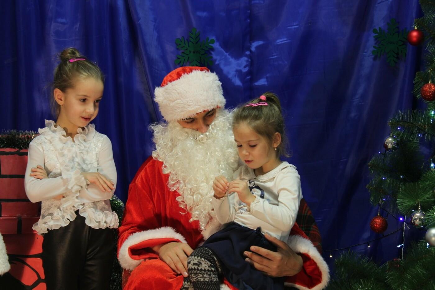 Маленькие мелитопольцы посетили резиденцию Деда Мороза, фото-5