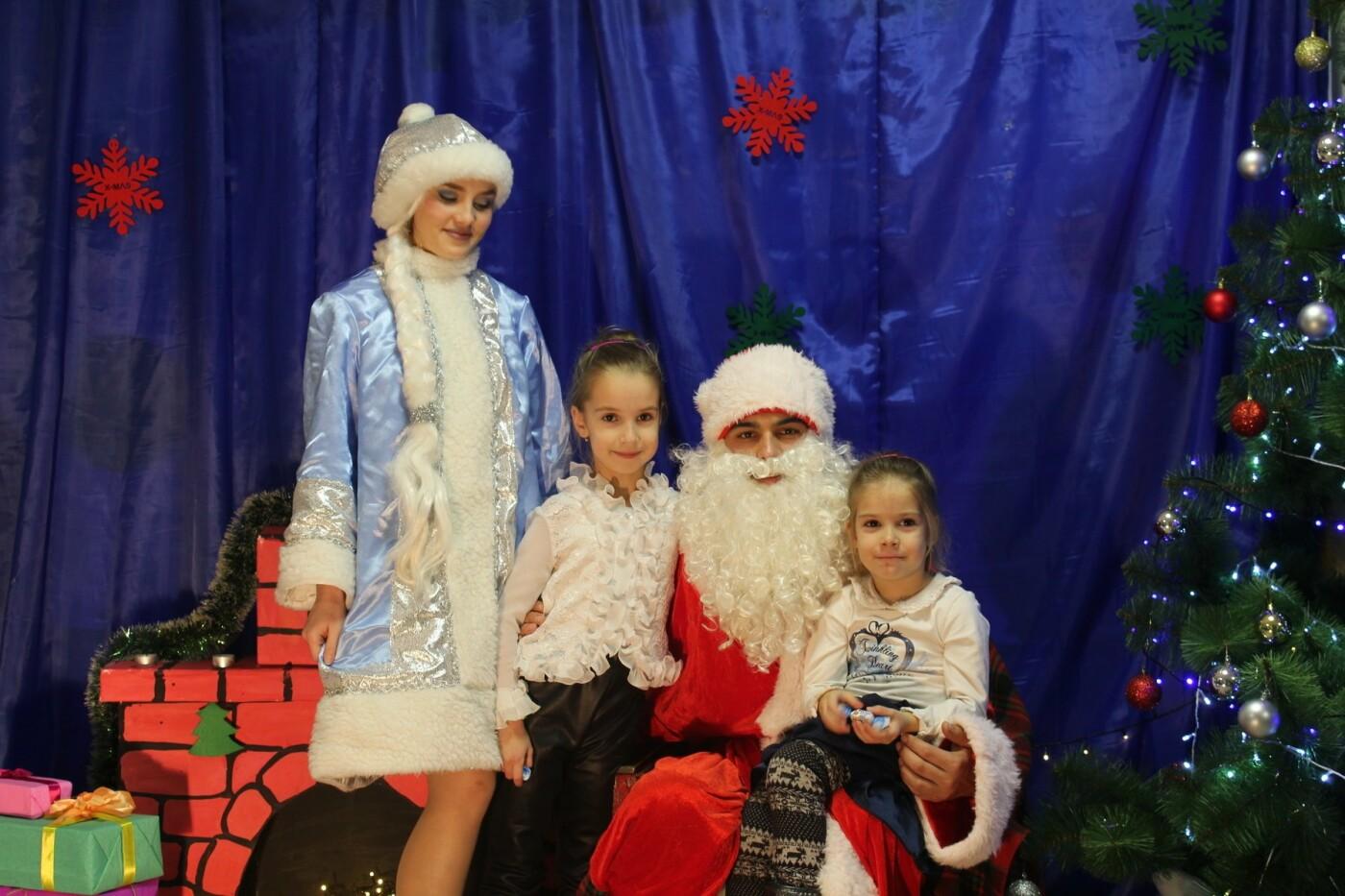 Маленькие мелитопольцы посетили резиденцию Деда Мороза, фото-3