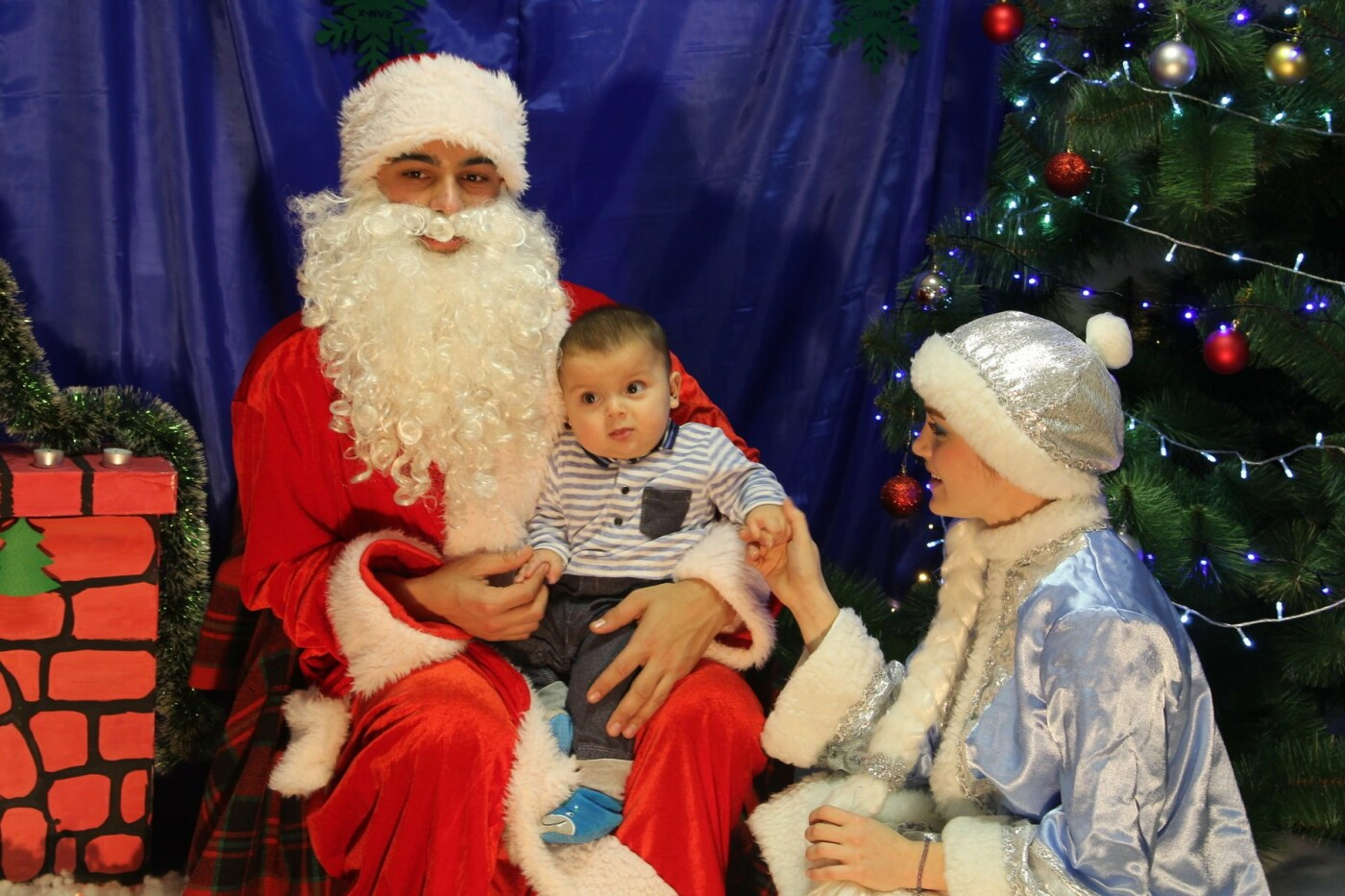 Маленькие мелитопольцы посетили резиденцию Деда Мороза, фото-4