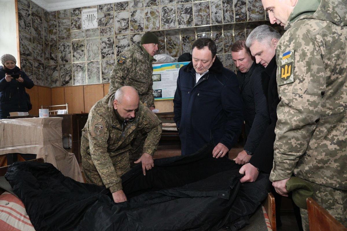 Губернатор области посетил батальон теробороны Мелитопольского района , фото-2