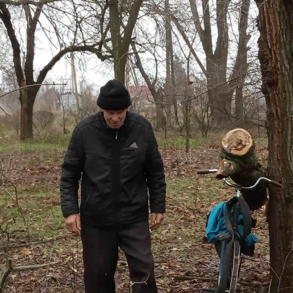 В Мелитопольском районе задержали мужчину, срубившего дерево в центре села , фото-1