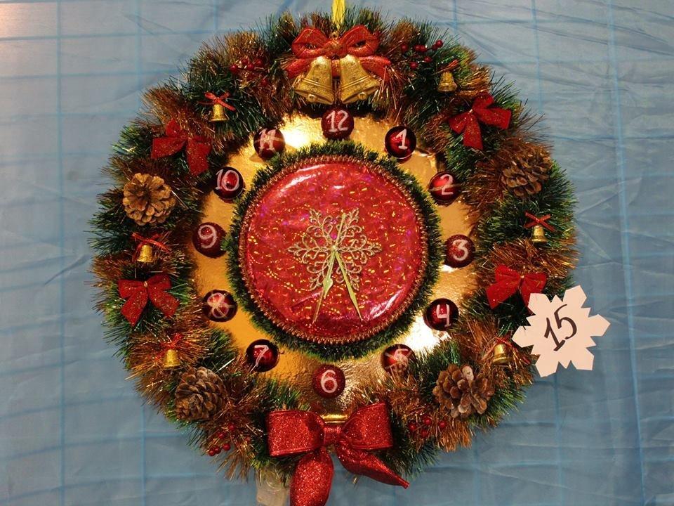 В Мелитополе выбрали лучшие рождественские венки , фото-3