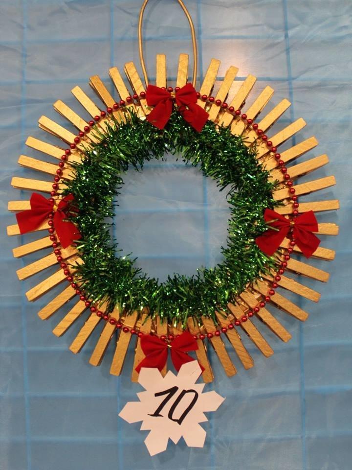 В Мелитополе выбрали лучшие рождественские венки , фото-1