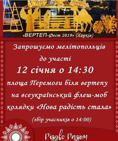 Мелитопольцы присоединятся к всеукраинскому флешмобу , фото-1
