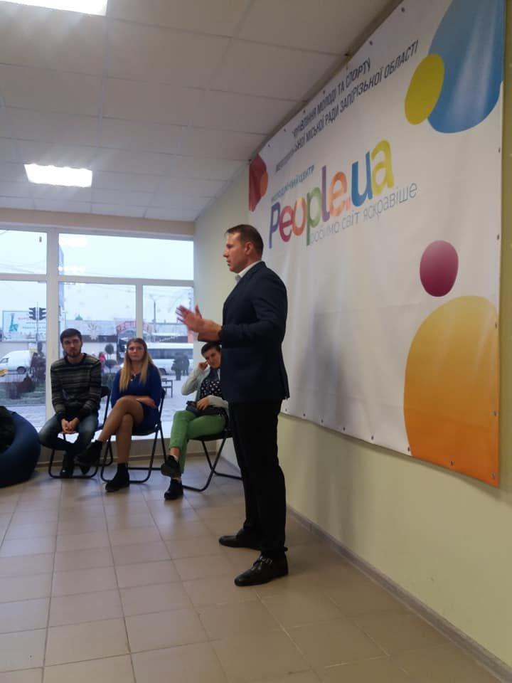 Мелитопольская молодежь пообщалась с мэром города , фото-1