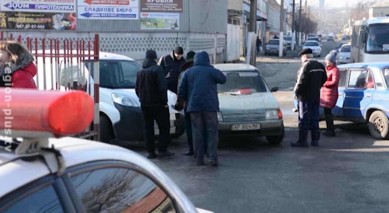 В Мелитополе произошло ДТП с участием трех автомобилей, фото-1