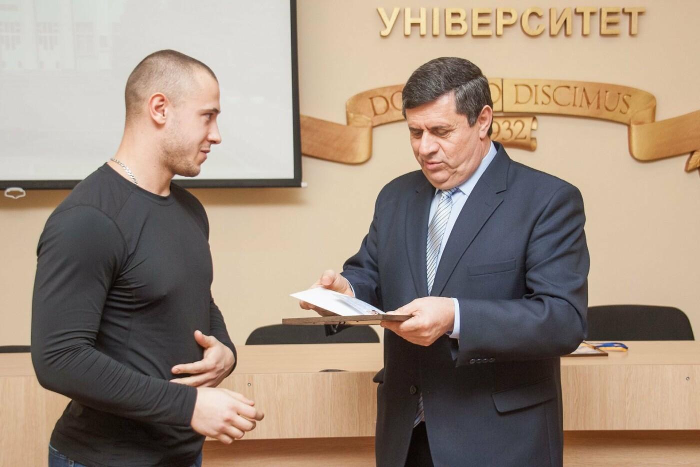 Студентам ТГАТУ вручили удостоверения мастеров спорта , фото-2