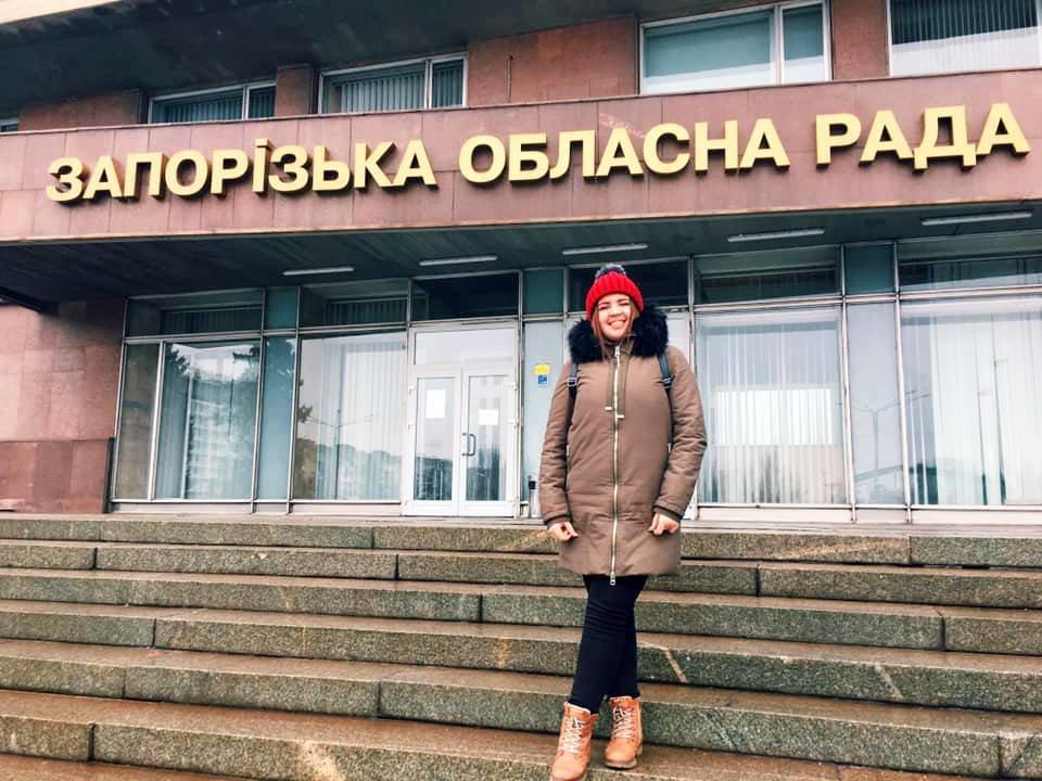 Мелитопольская студентка стала заместителем сопредседателя областного студсовета, фото-1