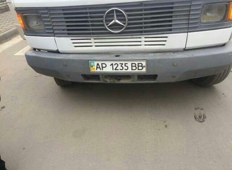 Мелитопольский маршрутчик высадил пассажиров на пешеходном переходе, фото-1, Фото из соцсетей