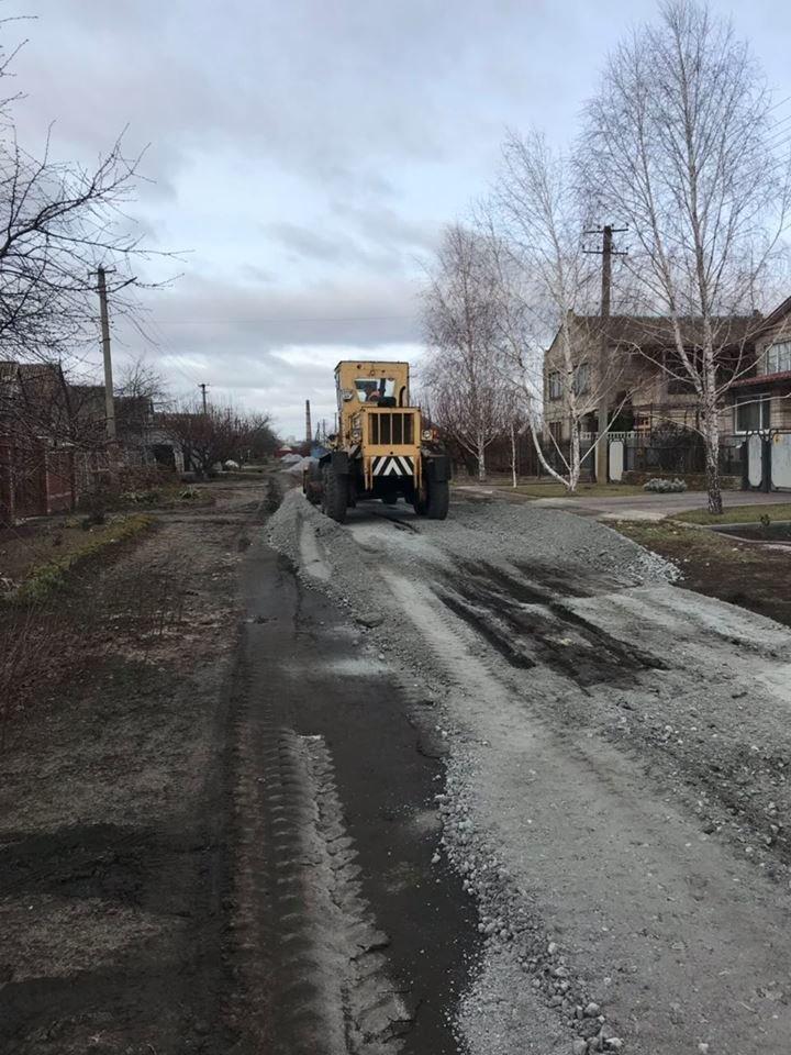 В селе Мелитопольского района грейдируют улицы, фото-1