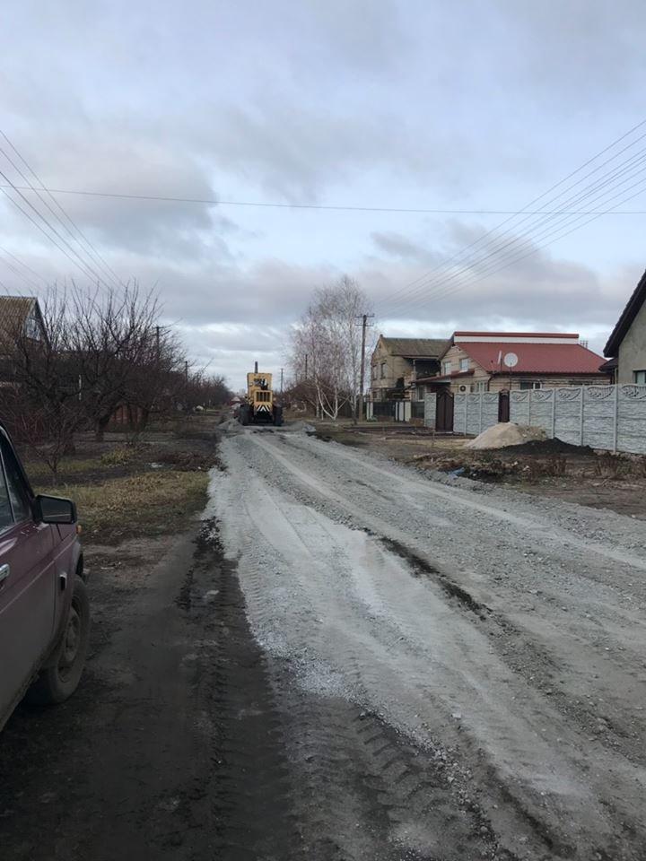 В селе Мелитопольского района грейдируют улицы, фото-2