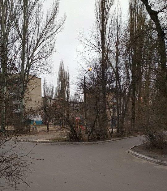 Мелитопольцы дождались уличного освещения в  своем дворе, фото-1