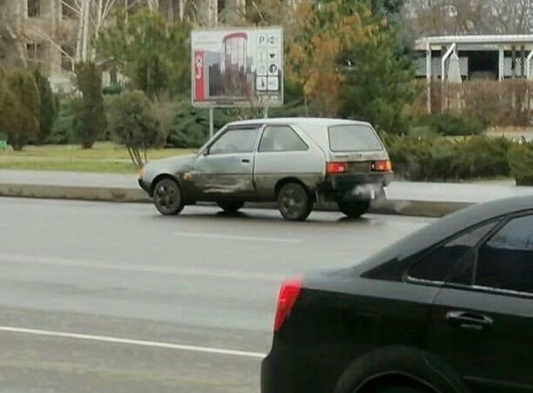 В центре Мелитополя произошло ДТП, фото-1