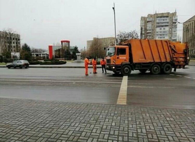 В полиции назвали виновника ДТП в центре Мелитополя, фото-1