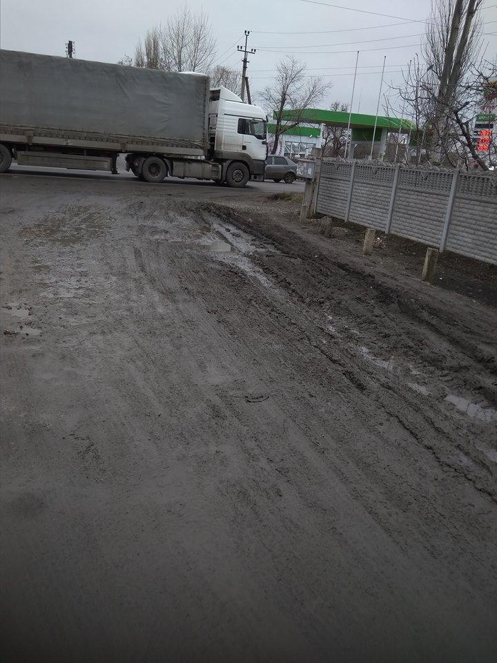 Мелитопольцы годами ждут обещанного ремонта дороги, фото-1