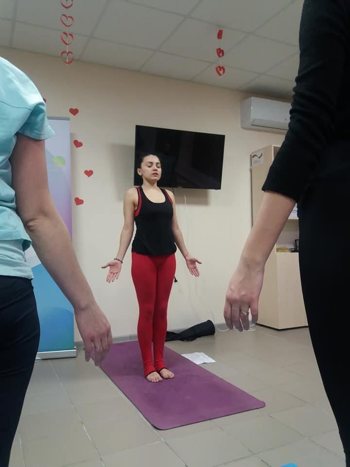 Для мелитопольской молодежи провели занятие по йоге , фото-2