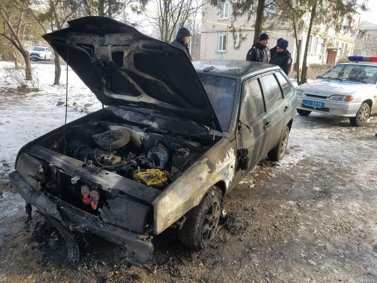 В Акимовке загорелся автомобиль, фото-1
