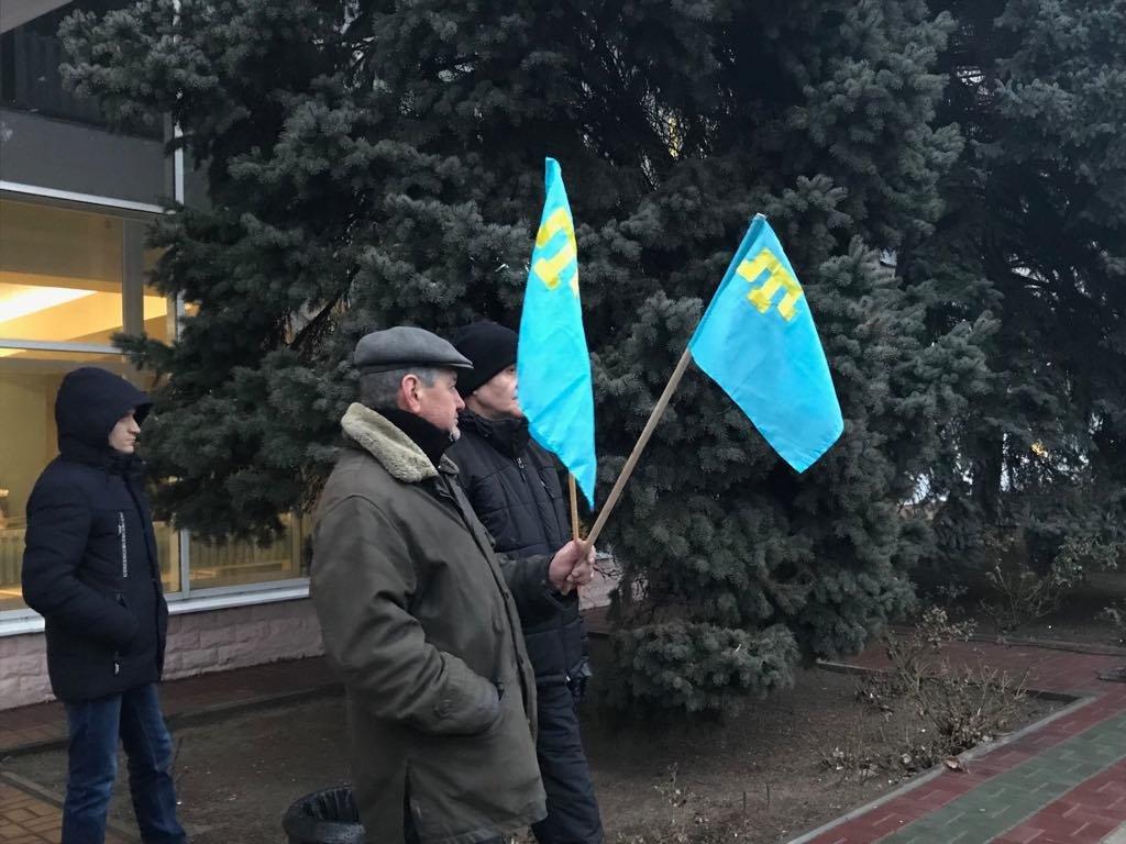Мелитопольцы провели акцию против оккупации Крыма, фото-5