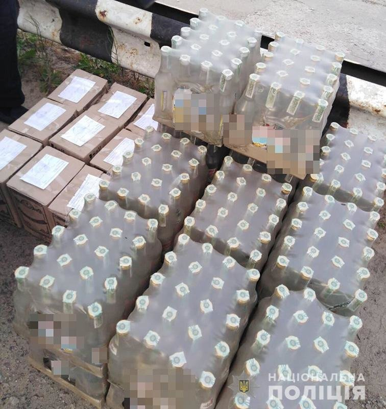 Полицейские задержали мелитопольца с нелегальным алкоголем , фото-1