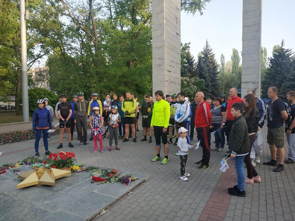 В Мелитополе состоялся памятный велопробег , фото-1, Фото из соцсети