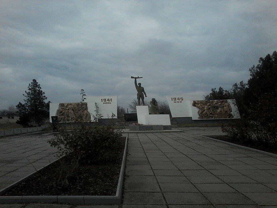 В сети показали фото памятников героям Второй мировой войны в Мелитопольском районе, фото-5