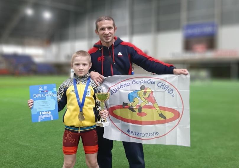 Юный борец из Мелитополя стал победителем международного турнира , фото-1