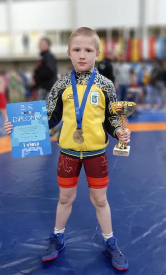 Юный борец из Мелитополя стал победителем международного турнира , фото-3