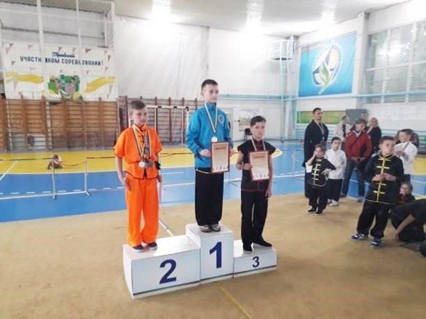Юные мелитопольские спортсмены стали призерами Кубка Украины по ушу, фото-1