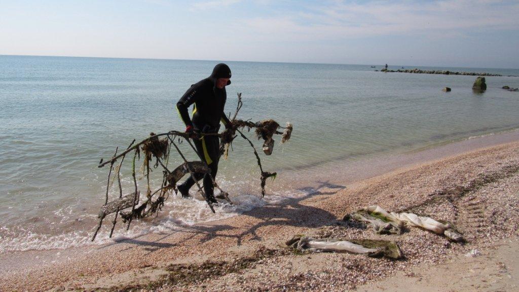 Спасатели очищают дно Азовского моря , фото-3