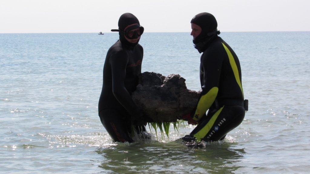Спасатели очищают дно Азовского моря , фото-4