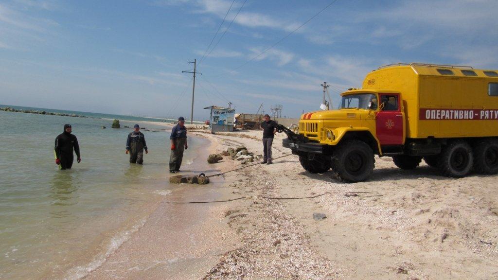 Спасатели очищают дно Азовского моря , фото-5