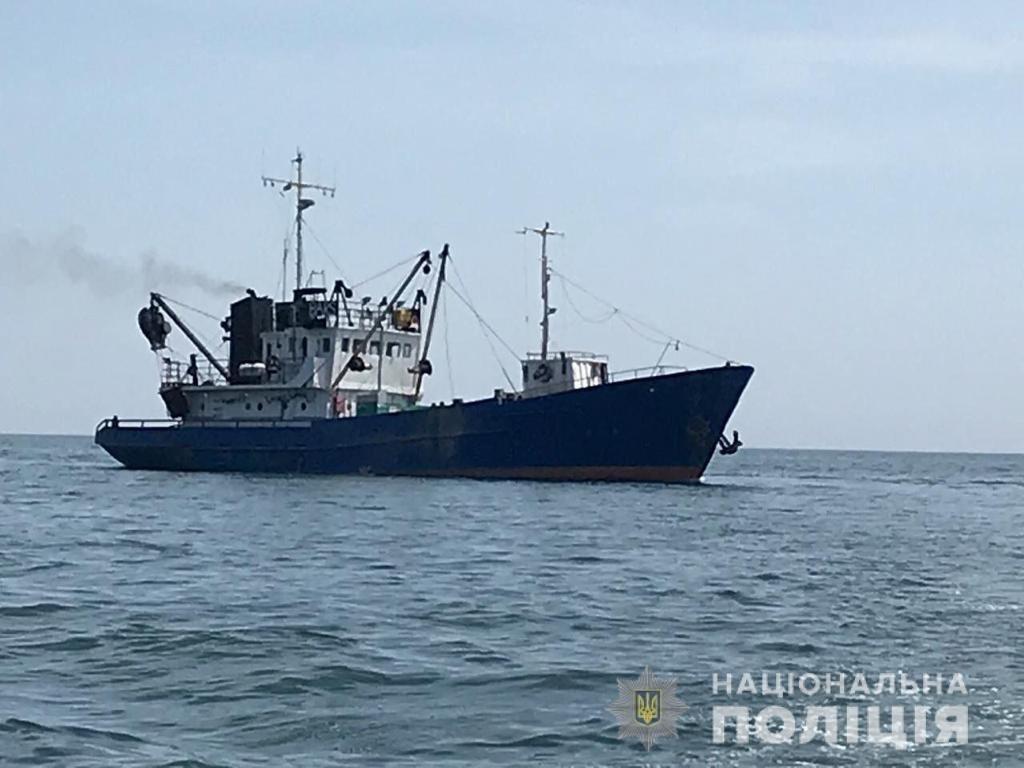 В Азовском море задержали рыболовецкое судно, фото-1