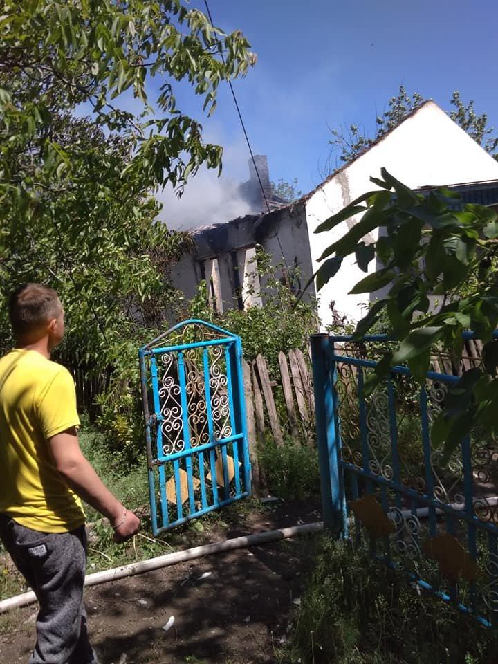 В Акимовском районе при пожаре погибла женщина , фото-2, Фото из соцсетей