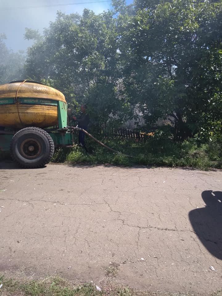 В Акимовском районе при пожаре погибла женщина , фото-4, Фото из соцсетей
