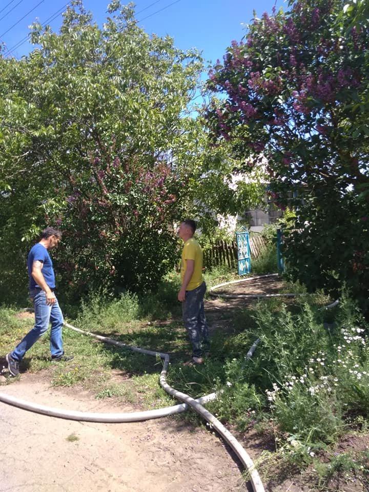 В Акимовском районе при пожаре погибла женщина , фото-1, Фото из соцсетей