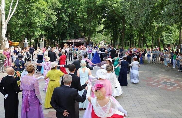 В мелитопольском парке состоялся Бал дворян , фото-5, Фото со страницы парка в Инстаграм