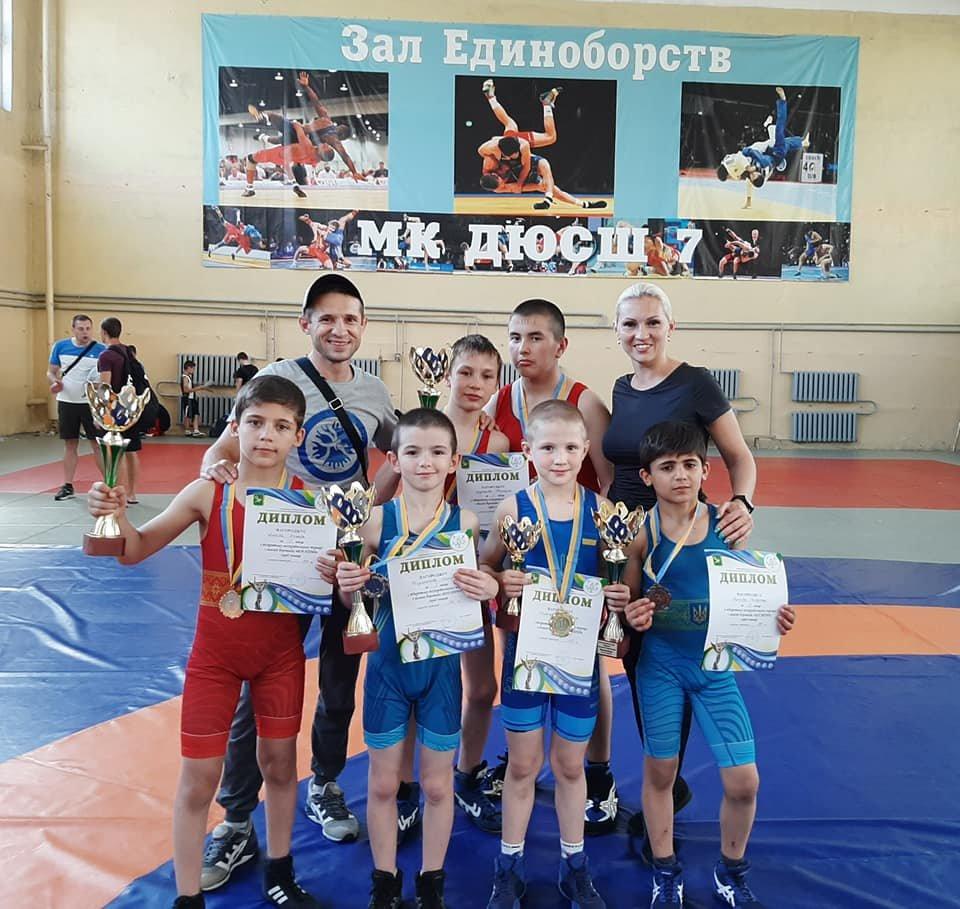 Юные мелитопольские борцы стали призерами всеукраинских соревнований , фото-1, Фото из соцсети